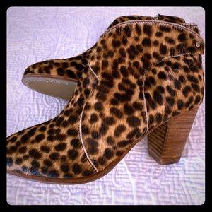 Boden Leopard Booties Size 40 ...